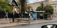 Erste Sturmschäden in Wien – Busstation abgesperrt