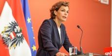 SPÖ-Chefin will Kindern geben, was Kurz gestohlen hat