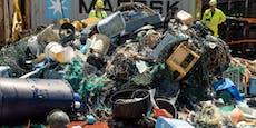 28.000 Kilo Plastikmüll aus dem Meer gefischt