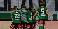 Wacker-Gala gegen Juniors OÖ, Lustenau-Serie reißt