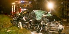 Autoinsasse stirbt bei Frontal-Kollision im Innviertel