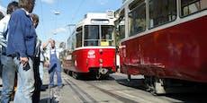 Kein Strom! Straßenbahnen in Wien standen still