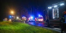 20-Jähriger stirbt bei Crash vor Augen seiner Freunde