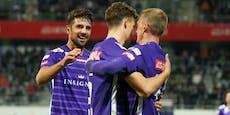 """Austria jubelt nach 4:1-Sieg: """"Rechnung ist beglichen"""""""