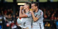 Wolfsberg gewinnt Kärntner Derby gegen Pacult-Elf