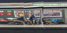 Akku im E-Roller leer? Wiener düst mit U-Bahn weiter