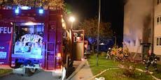 Feuerwehr bekämpft Wohnungsbrand mit Großaufgebot