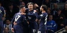 Manchester City bleibt mit 4:1-Sieg an Chelsea dran