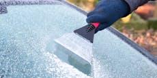 Frost im Flachland – Temperaturen sinken unter Null