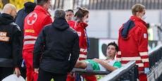Kühbauer: Dichtes Programm schuld an Greiml-Verletzung