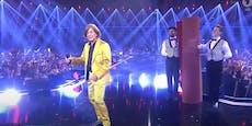 Wackeliger Auftritt im TV: Sorge um Jürgen Drews