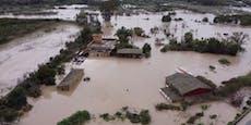 Italien kämpft gegen Flut – Landstriche unter Wasser