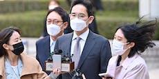 Drogen –Samsung-Vize fasst Strafe in Millionenhöhe aus