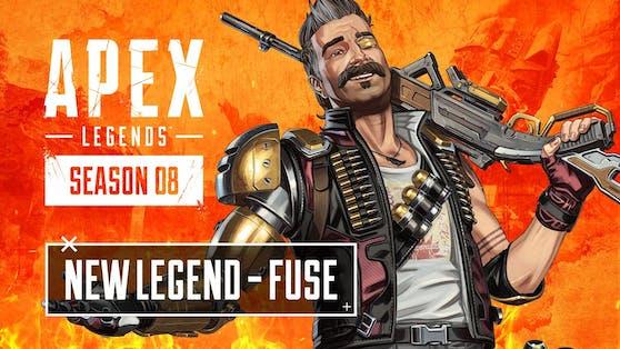 """Showcase zeigt Fähigkeiten von neuer Legende Fuse in """"Apex Legends Saison 8 - Chaos""""."""