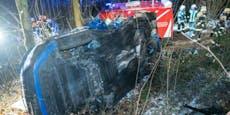 Katapult-Crash: Lenker (40) hob mit 200-PS-Boliden ab