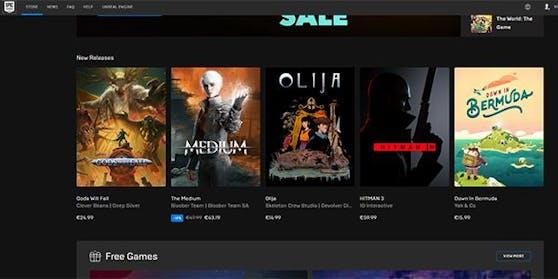Der Epic Games Store gibt einen Jahresrückblick.