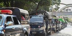 Militär übernimmt nach Putsch Kontrolle in Myanmar