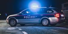 Raser fährt mit 160km/h durch Wien, kracht gegen Baum