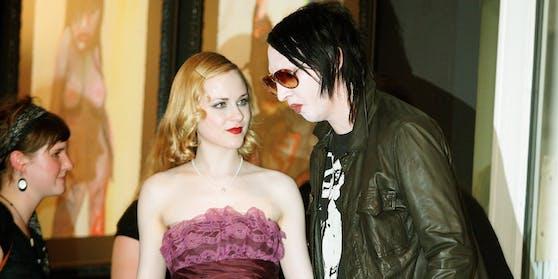 """""""Westworld""""-Star Evan Rachel Wood wirft Marilyn Manson Missbrauch vor."""