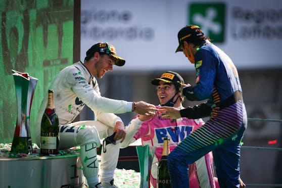 Gasly: Sensationssieger von Monza laboriert an Corona.