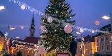 Weihnachtsbeleuchtung in St. Pölten bis Ende Februar