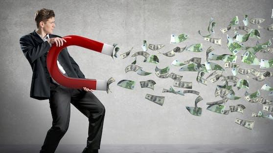 Laut amerikanischer Studien steigt die Zufriedenheit mit dem Einkommen.