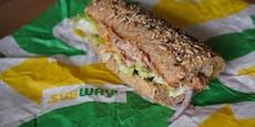 """Kein Thunfisch im """"Tuna Sandwich"""" - Klage gegen Subway"""