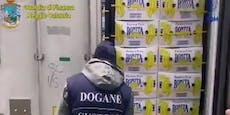 Polizei findet Kokain im Wert von Hunderten Millionen €