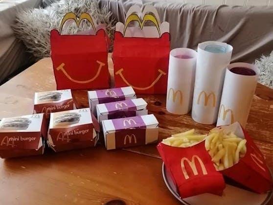 """Eine """"Happy Meal""""-Aktion bei McDonald's ist aus dem Ruder gelaufen."""