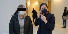 Bankräuberin mit Akkubohrer schickt Opfer Nacktfoto