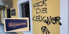 Graffiti-Anschlag auf Bar von Linzer Wut-Wirtin