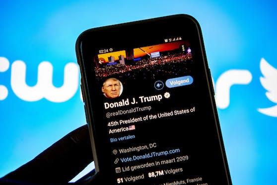 Twitter sieht für den von der Plattform verbannten Ex-Präsidenten Donald Trump keinen Weg zurück.