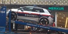 Kurvt die Polizei nun mit dem Elektro-VW durch Wien?