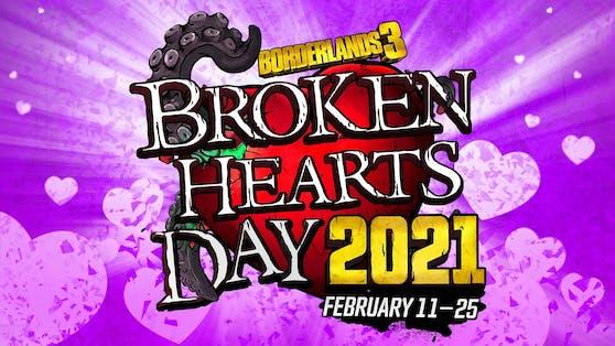 """L'événement Heartache Day recommence dans """"Borderlands 3""""."""