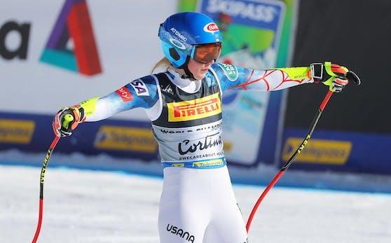 Mikaela Shiffrin schenkte die Goldmedaille her.