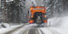 Schnee-Walze rollt auf Österreich zu – wo es weiß wird