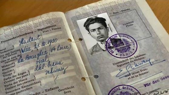 Erich Schwam musste während des zweiten Weltkrieges von den Nazis fliehen.
