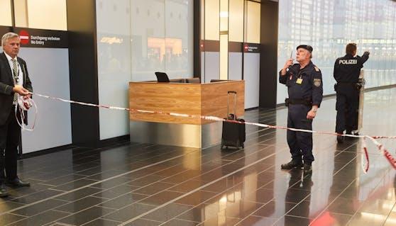 Polizei-Einsatz in Schwechat (Archivfoto).