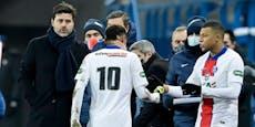 Neymar verletzt! PSG bangt vor Barca-Duell um Star