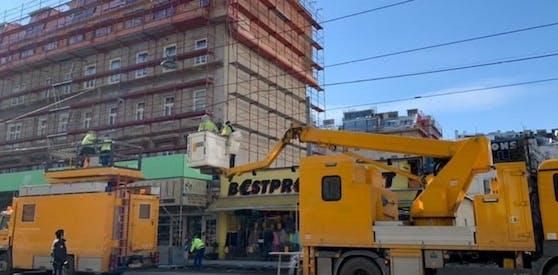 Am Donnerstag kam es wegen einer gerissenen Stromleitung zu Störungen der Öffis.