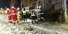 24-Jähriger rutscht auf Schnee gegen Bäume, stirbt