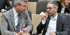 Hofer sagt Kanzler ab, Kickl sagt Chef-Interesse an