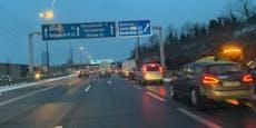Stau-Chaos rund um Wien im Frühverkehr