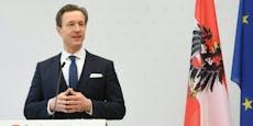 Finanzminister Blümel kündigt jetzt Klagen an