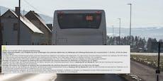ÖBB-Schienenersatzverkehr sorgt für Chaos bei Pendlern