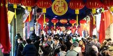 Chinesen feiern Neujahr trotz Corona-Einschränkungen