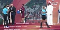 Klub-WM: Scheich verweigert Schiedsrichterin Handschlag