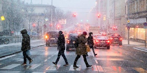 Auch in Wien wird es richtig kalt.