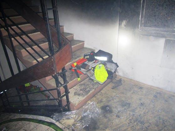 In einer Grazer Wohnung ist Donnerstagabend ein Feuer ausgebrochen.