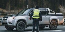 21-Jähriger high und ohne Führerschein erwischt